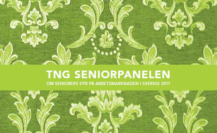 Seniorpanelen lyfter fram åldersdiskriminering via TNG