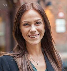 Johanna Hellman tf affärsområdeschef TNG IT Digital