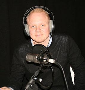 """Mathias leder TNGs podcast och jobbpodd """"Tack för din ansökan"""""""