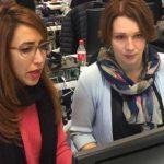 Olga vågade lämna en trygg ekonomikarriär för att satsa på it-drömmen