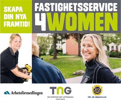 Sök till Fastighetservice4women - fastighetsskötare