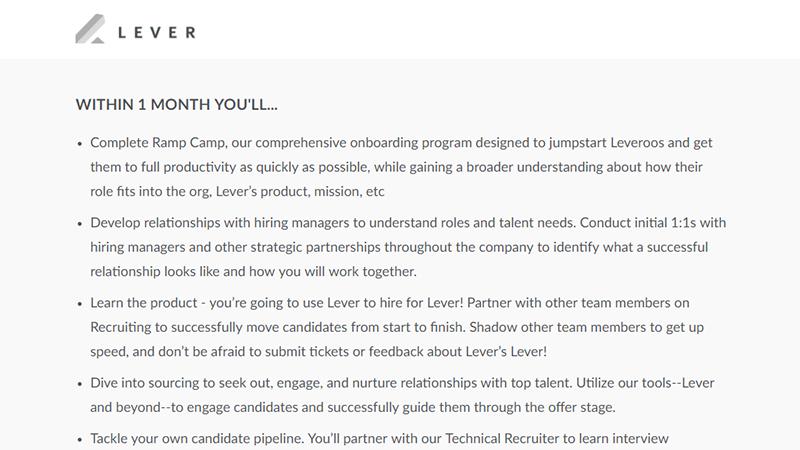 Impact description från företaget Lever.