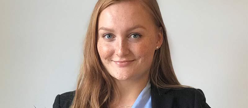 Darja Belokurova hittade jobb direkt efter sin utbildning, tack vare TNG