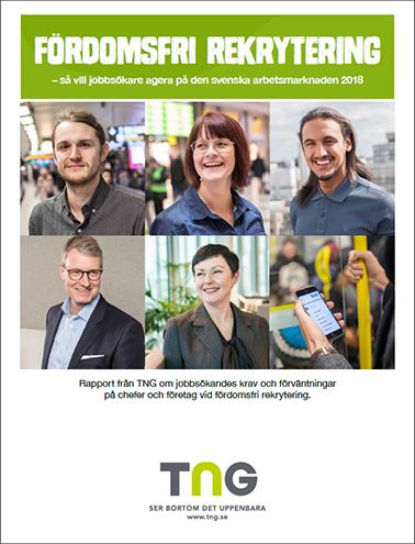 Ny rapport och undersökning om jobbsökare och deras syn på fördomsfri rekrytering 2018