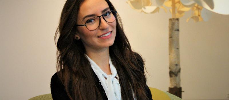 Som konsult fick Johanna ett spännande jobb på Nordea i Stockholm.
