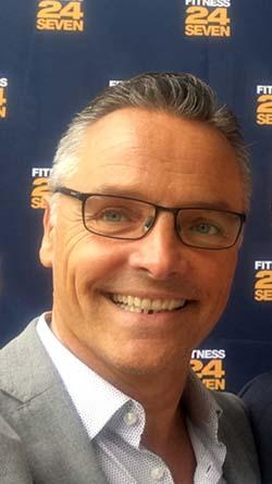 Fredrik Krüeger, HR-chef på Fitness24Seven