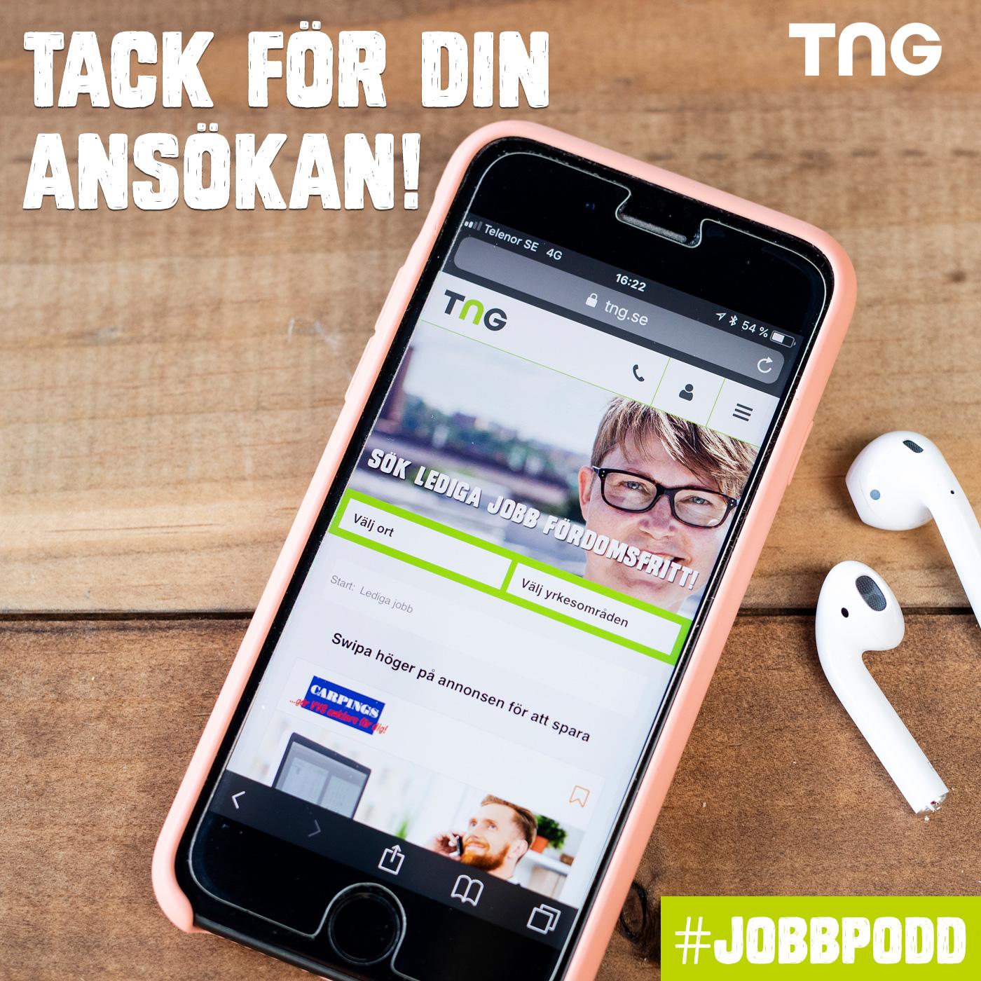 TNG:s jobb och karriärpodd