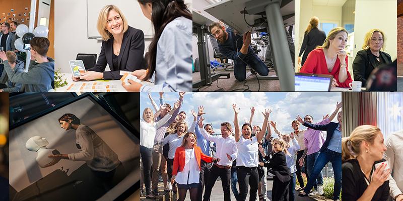 Möte teamet bakom världens första sociala rekryteringsrobot