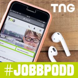 Lyssna på TNG:s jobbposs Tack för din ansökan!