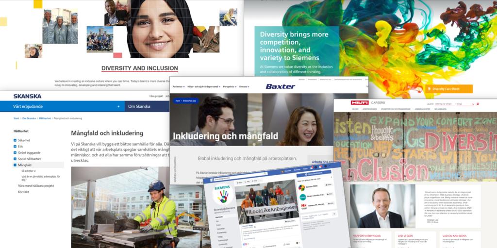 Diversity and Inclusion. Allt fler företag satsar nu stort på inkludering och mångfald.