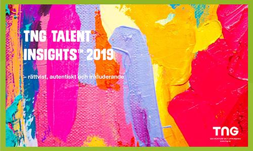 TNG kandidatrapport 2019 - rättvist, autentiskt och inkluderande