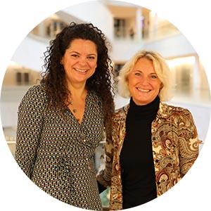 Gabriela Almonacid och Maria Moberg, SEB