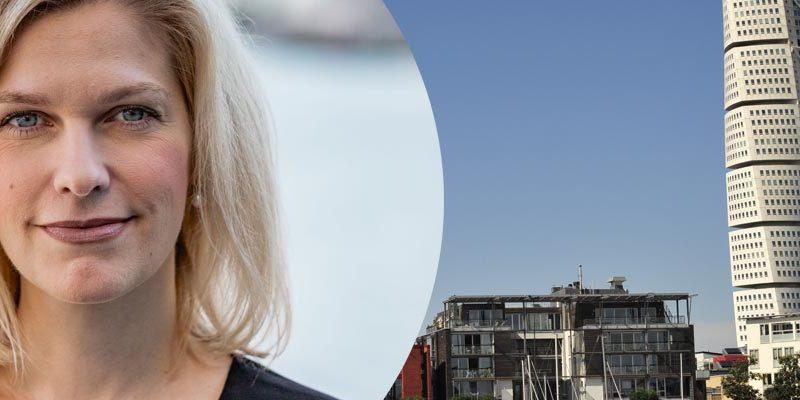 Anna Nydahl, regionchef TNG Malmö Stadsbild