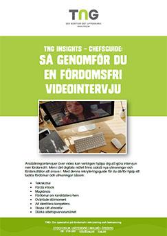 Guide till videointervjuer för chefer och HR