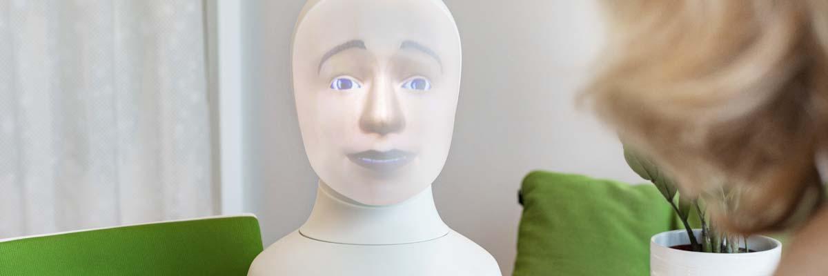 TNG blir återförsäljare av Tengai – världens första intervjurobot