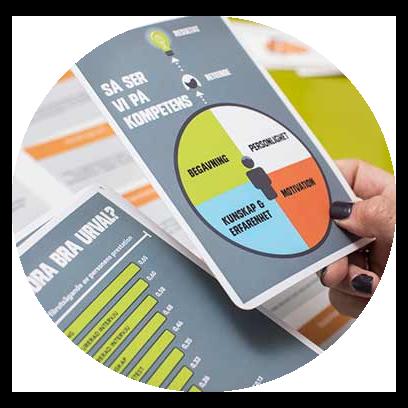 På TNG mäter vi all kompetens enligt en kompetensbaserad bedömningsmatris