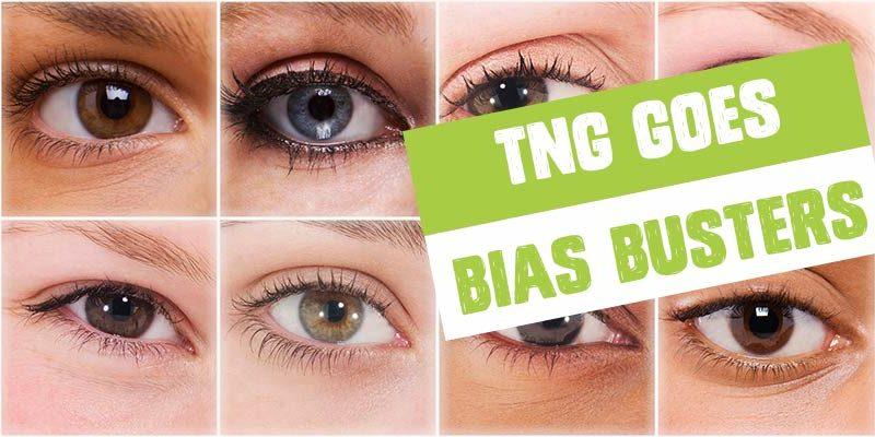 TNG goes bias busters och krossar myter inom rekrytering Ögon