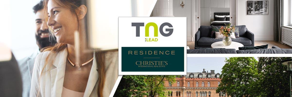 Fördomsfri chefsrekrytering - Residence Christie's samarbetar med TNG Lead