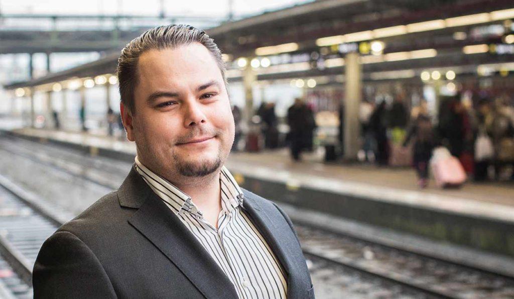 Amin - kundansvarig säljare och medarbetare på TNG i Stockholm
