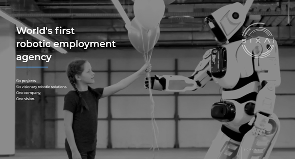 SixAli Israel hyr ut robotar
