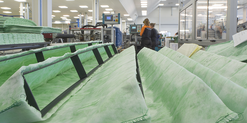 tillverkning camfil case fabrik luftrening