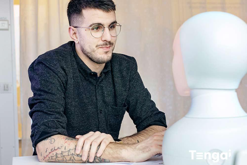 Hyr en egen intervjurobot