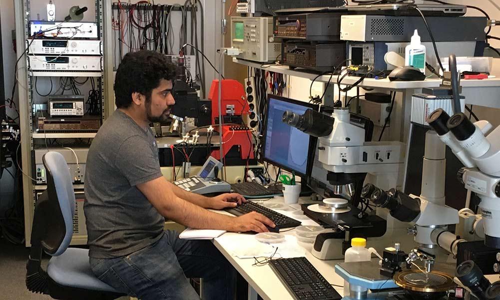 Testlabbet på II-VI Kista där vi utvecklar framtidens hållbara kraftelektronik