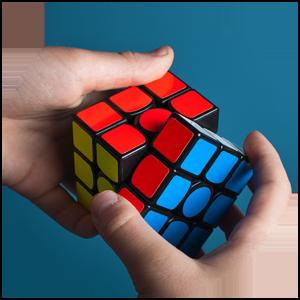 Rubiks kub - en symbol för problemlösning och andra talanger som är värdefulla i rekrytering