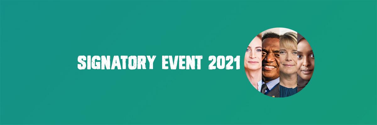 signatory event